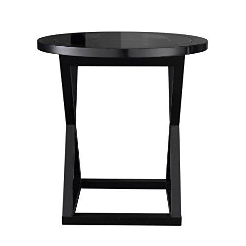 Curations 8833.1023Sete Beistelltisch nicht zutreffend, schwarz (Schwarz-konsole-tabelle)