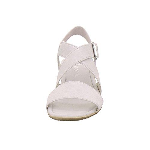 Gabor Damen Fashion Knöchelriemchen Silber