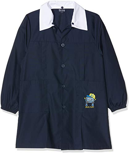Brums grembiule bottoni, bambino, (blu 14 285), 152 (taglia produttore:12 anni)