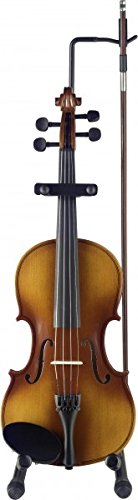 Image of Stagg 14581 Folding Violin Stand with Bow Holder