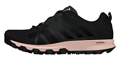 adidas Kanadia 8 Tr W, Scarpe da Corsa Unisex – Adulto Nero (Utility Black/core Black/vapour Pink)