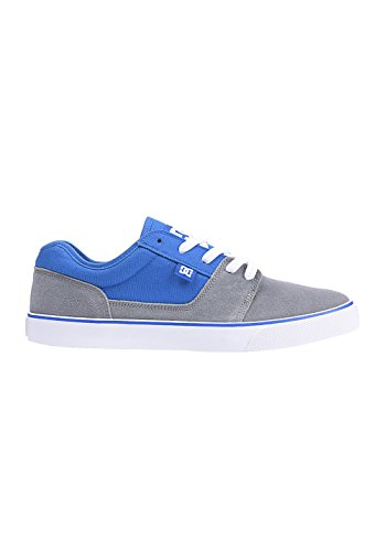 DC TONIK Unisex-Erwachsene Sneakers Gris - Grey/White/Blue