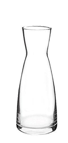 6 x Karaffe, Glas, transparent, 0.25 l, Ø 6.8 cm, Höhe: 16.5 cm