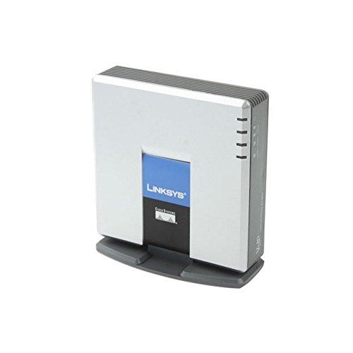 Passerelle LINKSYS PAP2T VOIP PSTN Téléphone avec 2 ports de communication
