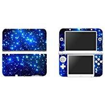 eseeking Vinyl Cover Aufkleber Skin Aufkleber für Neue Nintendo 3DS XL/LL-Blau Nebel