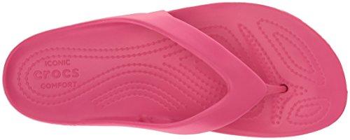 Crocs Women's Kadee Ii Flip Flops, Pink (Paradise Pink), 3 Uk (5 Us)
