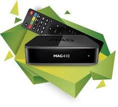 MAG 410 UHD 4K Android IPTV Receiver