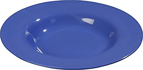 Carlisle 3303014 Sierrus Melamine Soup / Salad Bowls, 20-oz., Ocean Blue (Set of 12)