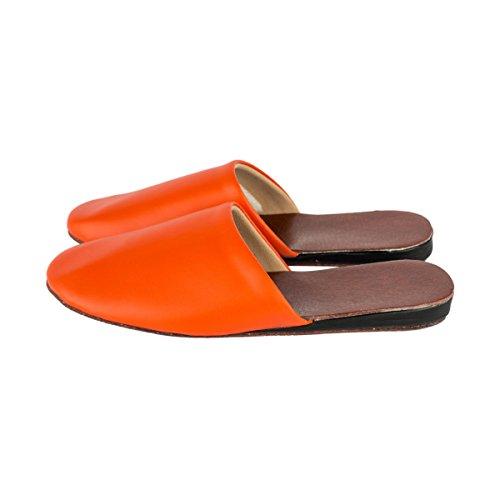 Haisum  Tb002-w, Damen Hausschuhe Orange