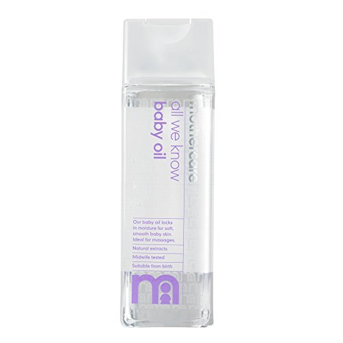 Mothercare All We Know Baby Oil - Pack of 1, 300mL