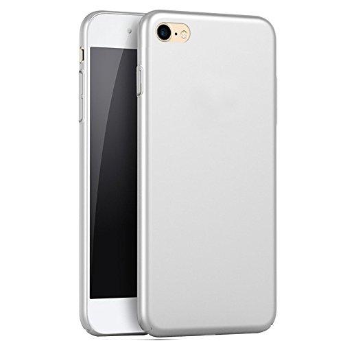 iPhone 8 / 7 Hardcase, Arktis Ultraslim Schutzhülle Cover Schwarz Silber