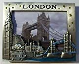London Souvenir 3D s / TOWER BRIDGE & Berühmte Ikonen Fotorahmen / Ich Liebe London Souvenir-Fotorahmen