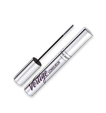 Yves Rocher COULEURS NATURE wimpernverlängernde VERTIGE Mascara Noir, für Länge & Schwung, Schwarz, 1 x Flacon 8 ml - Elemis Auge