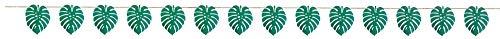 Amscan 120498 - Pancarta de papel, diseño de hoja de palma