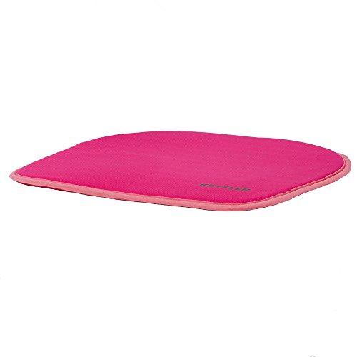 Kettler Sitzkissen Chair Plus - Farbe: Pink - hochwertige Sitzauflage Schreibtischstuhl - Größe: 34 cm x 34 cm - Sitzkissen Kinder - Artikelnummer: 06785-106