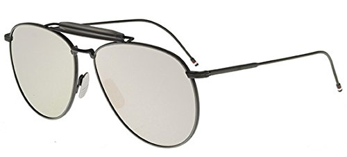 thom-browne-tb-015-ltd-black-grey-aviateur-polycarbonate-unisexe