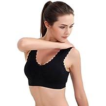 Sport-Bra HARRYSTORE Mujer sosténes deportivas de yoga Ropa interior Push Up Camisetas sin mangas para correr Fitness