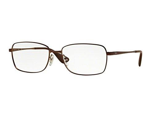 6216d353c26 Ray Ban Optical Montures de lunettes Pour Femme RX6336M - 2758  Matte Brown  - 53mm