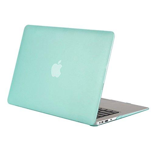 MOSISO Hülle Kompatibel MacBook Air 11 Zoll - Ultra Slim Hochwertige Plastik Hartschale Schutzhülle Snap Case Kompatibel MacBook Air 11 (A1370 / A1465), Mint Grün