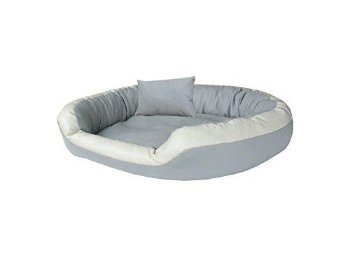 Luxus cestino cani divano cani divano letto spazio cuscino per cani in pelle taglie: da m a xl