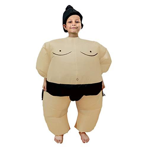 (Oyamihin Lustige Sumo Spiele Kostüme Party Cosplay Blowup Kostüm für Erwachsene / Kinder - Schwarz)