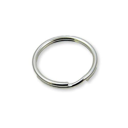 Argent sterling – 6 mm Split Anneaux Apprêt – 2PK
