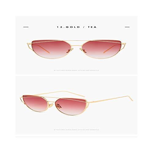 Sportbrillen, Angeln Golfbrille,New Fashion Square Retro Rimless Sunglasses Women Luxury Brand Designer Gradient Sun Glasses Eyewear Candy Color UV400 9