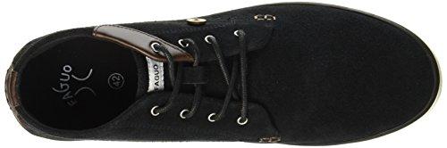 Faguo wattle, Sneaker a Collo Alto Unisex – Adulto Noir (Black_F1730)