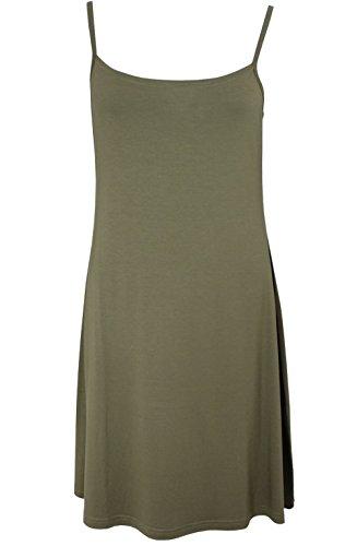 Masai Clothing - Robe - Femme vert olive