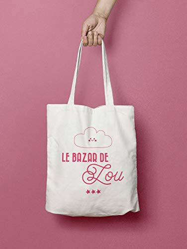 Custom Kids Tote Bag - Little Cloud Tote Bag - Personalisiertes Geschenk für Kinder - Geschenk für Kinder - Personalisierte Tragetasche -