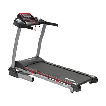Branx Fitness Foldable 'Cardio Pro' Touchscreen Console Treadmill - 20km/h - 6hp - 0-15 Level Auto Incline - Body Fat Readout - Soft Drop System - Smart Deck Suspension Points