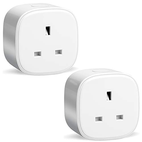 Smart Plug, Meross WiFi Plug Works with Alexa Google Home IFTTT Voice  Control Timing Function No Hub Required (2 Pack)