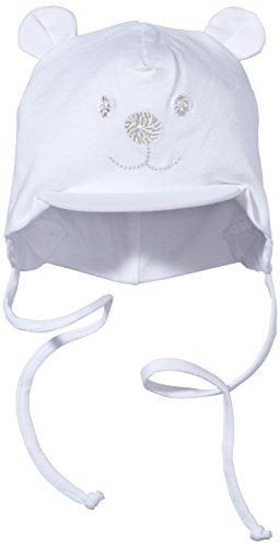 Baby Mützen Mit BART - Sterntaler Unisex Schirmmütze mit Bindebändern, Nackenschutz