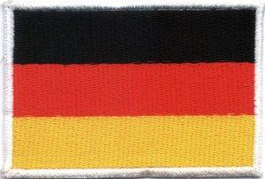 Parche / parche coser bandera Alemania