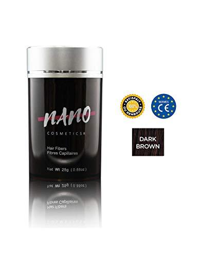 Poudre Densifiante Kératine pour Cheveux & Barbe | NANO COSMETICS Keratin Hair Fibers 25g | ANTI...