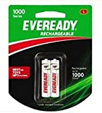 Eveready-Rechargeable-1000-series-2AA-Battery-600mAh