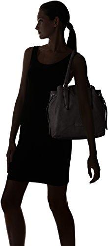 Liebeskind Berlin Damen Osakiw Vintag Shopper, 60x39x12 cm Schwarz (ninja black 9998)