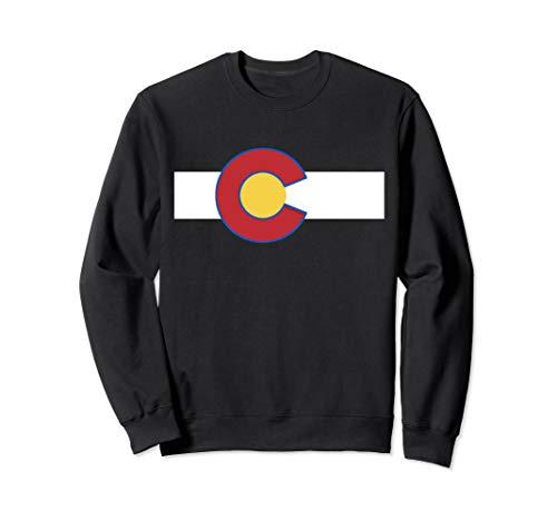 Colorado USA Flag - Rocky Mountain High Sweatshirt -
