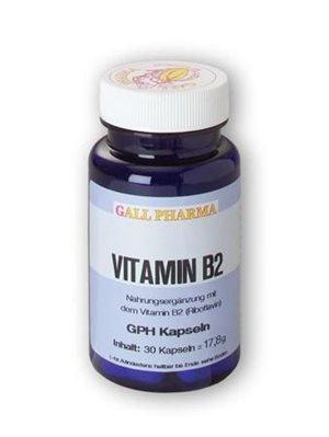 Gall Pharma Vitamin B2 GPH Kapseln, 180 Stück, 1er Pack (1 x 180 Stück)