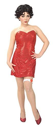 Betty Boop Tamaño Lentejuela Mini vestido. M 38