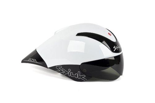 Spiuk Aizea - Casco de Ciclismo, Color Blanco/Negro, Talla 53-61