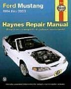Haynes Ford Mustang 1994 - 2003 (Hayne's Automotive Repair Manual) (2003 Mustang-motor)