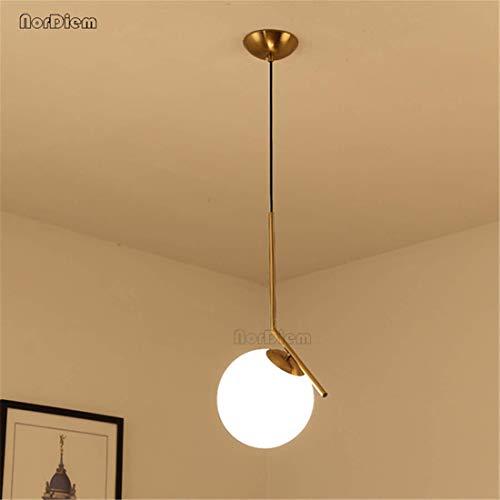 Plafonieraestilo moderno dormitorio sala de estar minimalista restaurante lámpara colgante accessori ropa nórdica decorazione bola de cristal colgante luz