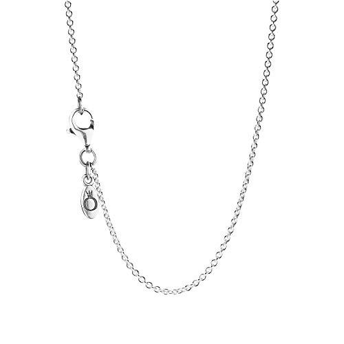 Pandora Damen Halskette Einfache Silberkette 590412