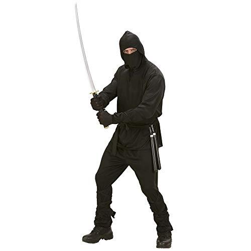 Preiswerte Für Kostüm Erwachsene - Widmann 02772 - Erwachsenenkostüm Ninja, Größe M