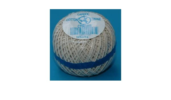 Natural Garden Jute Twine No5 Cotton String Ball Roll Plant Tie Back Line 85g