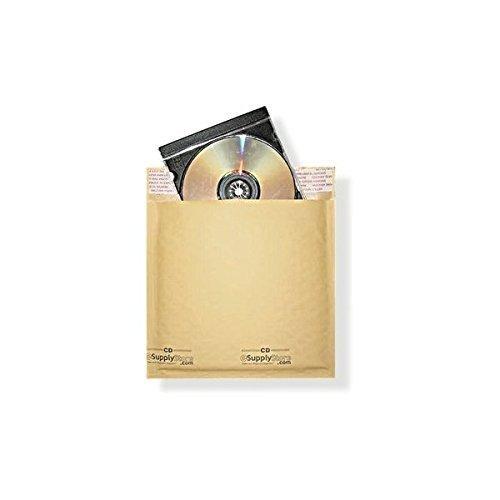 Cd Mailer Gepolsterte (# CD 16,5x 24,8cm Kraft Blase Mailer Protected Gepolsterte envelopes-100ct)