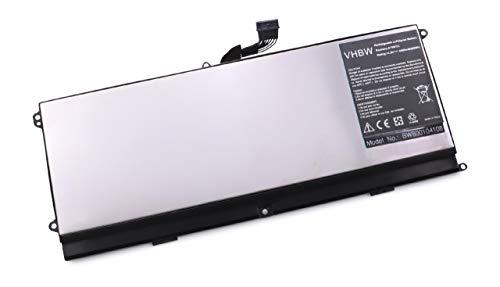 4400mAh (14.8V) für Notebook Laptop Dell L511Z, XPS 15z wie 075WY2, 0HTR7, 0NMV5C, 75WY2, NMV5C, OHTR7. ()