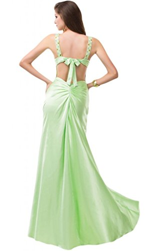 Sunvary Sexy High Low Prom abiti Pageant con motivo: Ruffle-Gowns Pink