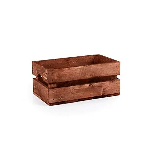 TINTOURS Boîte en Bois pour Herbes et Fleurs pour Jardin/Jardin/Jardin/Jardin/Jardin/bac à légumes Marron 34 x 20 x 15,5 cm
